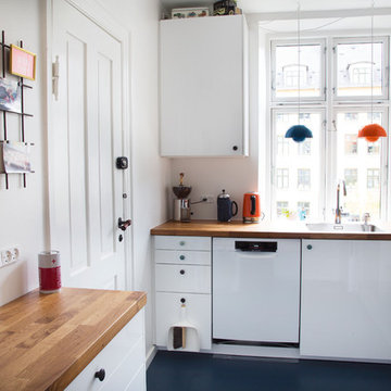 Køkkenreportage, Pernille og Asbjørn