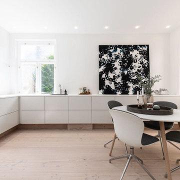 Luksusindretning af eksklusiv og unik villa på Frederiksberg
