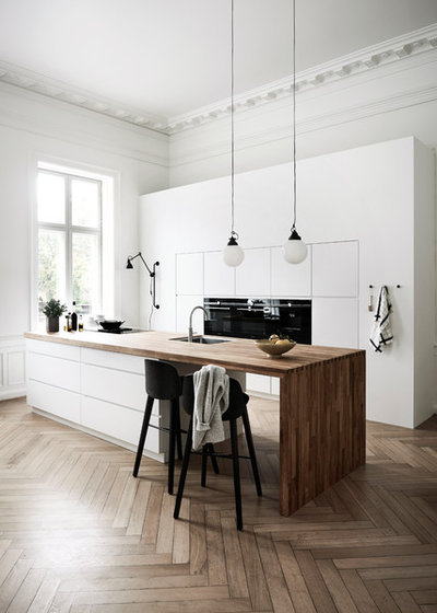 Scandinavian Kitchen by Kvik Denmark