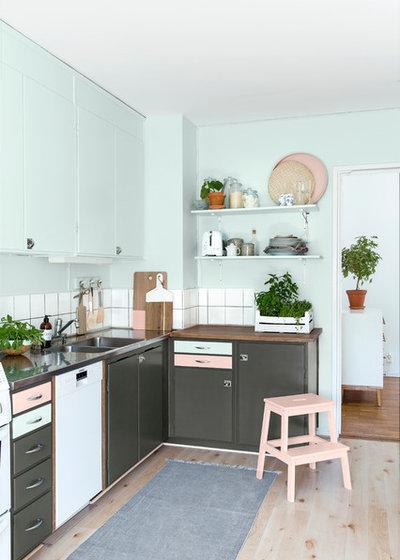 北欧 キッチン by Sadolin Danmark
