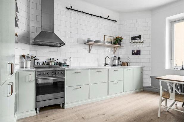 北欧 キッチン by Wilmer Interior