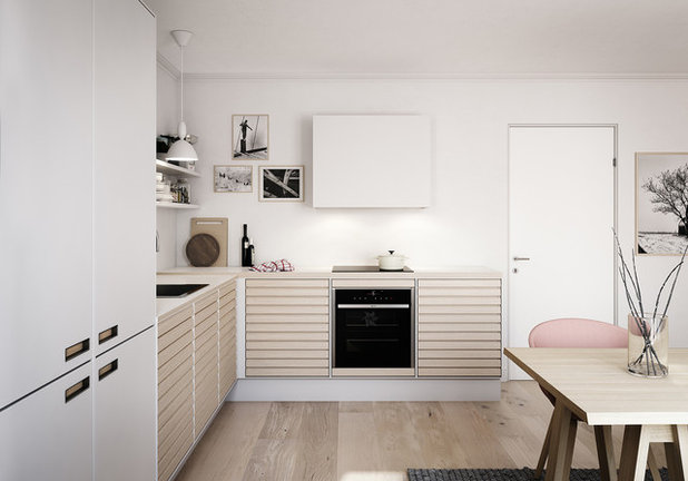 Scandinavian Kitchen by Svane Køkkenet