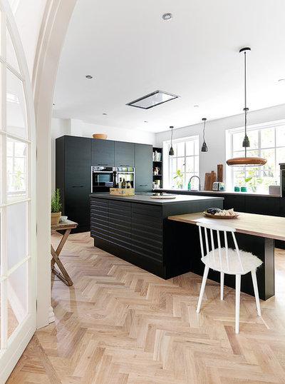 北欧 キッチン by JKE Design