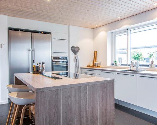 Billeder og indretningsidéer til moderne køkken