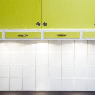 Midcentury kitchen in Copenhagen.