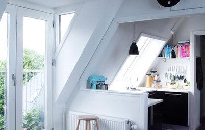 Läsarfrågan: Hur får jag bra belysning i ett kök med snedväggar?