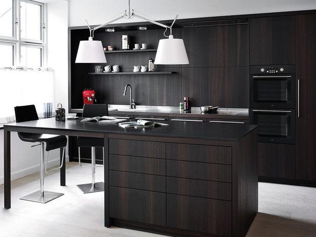 Tendens: mørke køkkener hitter   er det hvide køkken stadig relevant?