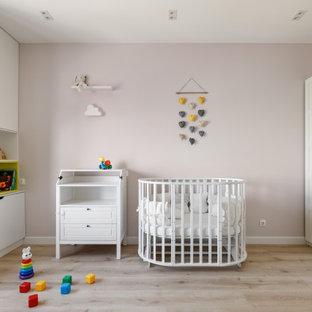 Идея дизайна: комната для малыша в современном стиле