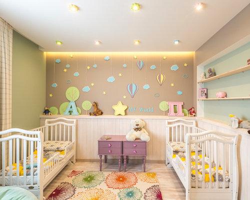 Chambre bebe fille multicolore