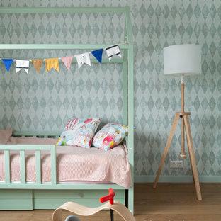 Свежая идея для дизайна: комната для малыша в скандинавском стиле - отличное фото интерьера