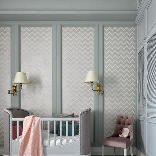 Идея дизайна: комната для малыша в классическом стиле