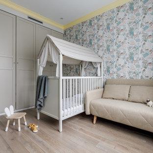На фото: комната для малыша в скандинавском стиле
