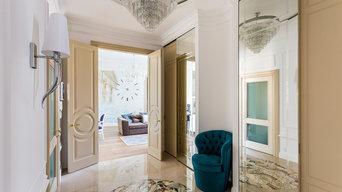Дизайн интерьера 3х комнатной квартиры 120 кв.м. в старом Фонде Спб