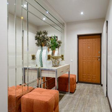 Дизайн-проект квартиры 86 м2 в ЖК Гагаринский