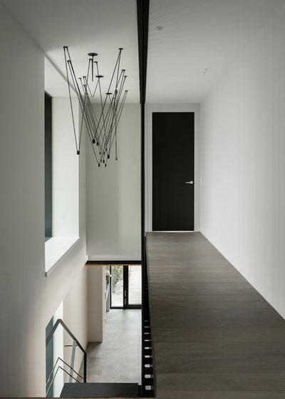 Contemporáneo Recibidor y pasillo by 4a Architekten Moscow