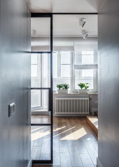 Contemporary Hallway & Landing by Алексей Иванов и Павел Герасимов|Geometrium design