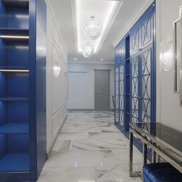 Интерьерная фотосъемка трехкомнатной квартиры на Крестовском