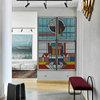 Houzz тур: Квартира с мозаикой из здания ЗИЛа