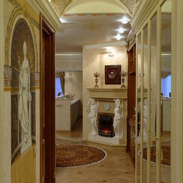 Квартира в стиле Версаче 200м2