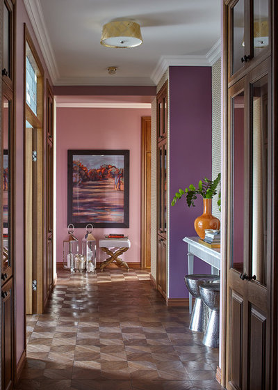 Eclectic Hallway & Landing by Follow beauty Interiors