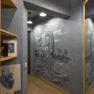 Создайте стильный интерьер: коридор в современном стиле с серыми стенами - последний тренд