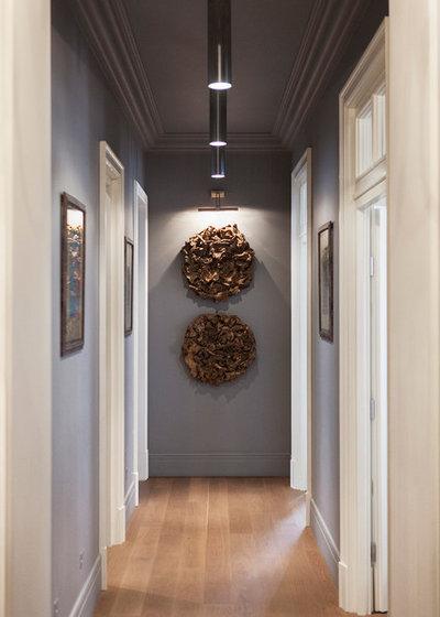 Eclectic Hallway & Landing by Yuri Grishko