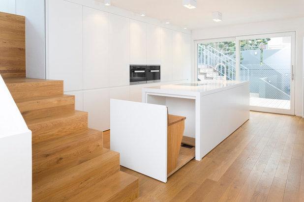 Moderne Cuisine by mo+ architekten