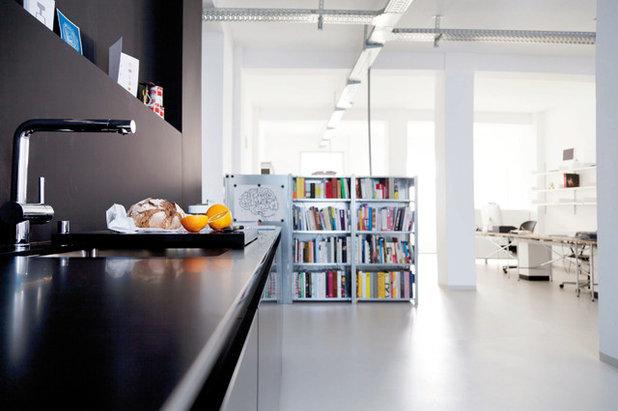 welche k chenarbeitsplatte beton corian und granit im. Black Bedroom Furniture Sets. Home Design Ideas