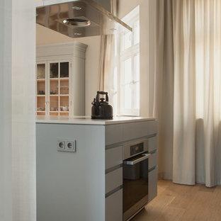 Cucina con top in quarzo composito Berlino: Foto e Idee per ...
