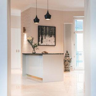 Cucina con pavimento in marmo Berlino - Foto e Idee per ...