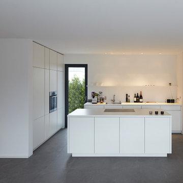Bauhaus-Look Küche