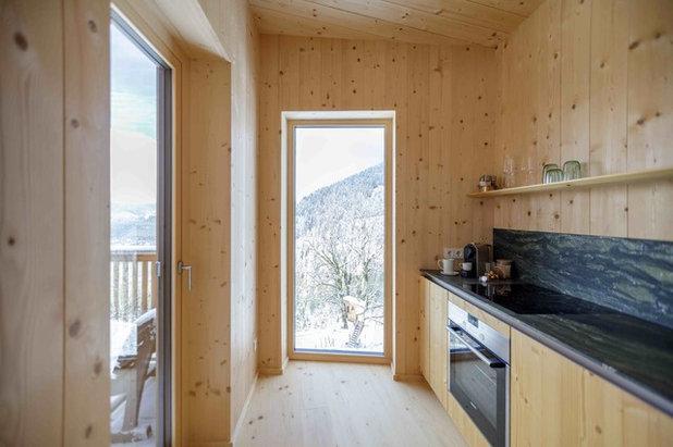 Skandinavisch Küche by Architekturbüro Gappmaier