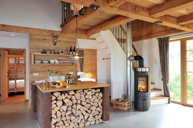 Rustic Kitchen by Archifaktur Lennestadt