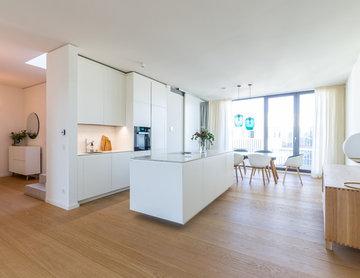 Berlin Penthouse - lighting & furniture selections
