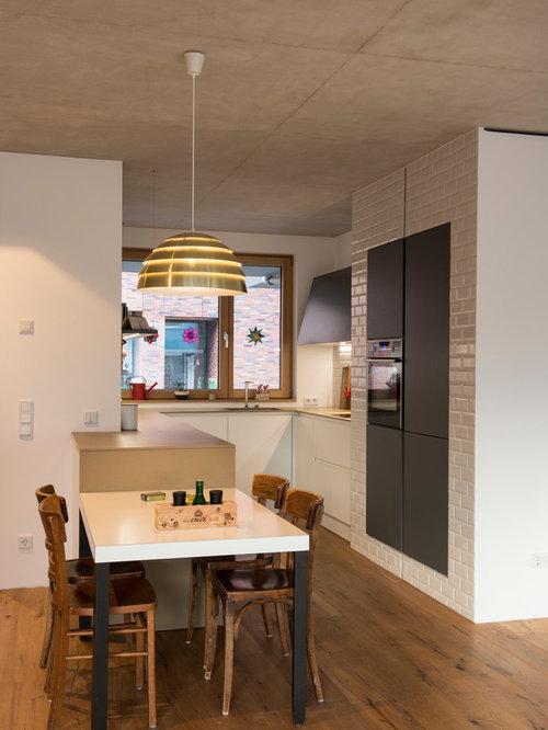 Einbauküchen u form holz  Kleine Küchen in U-Form Ideen, Design & Bilder | Houzz