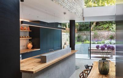 Umbau in London: Ein typisches Townhouse gerät ins Schweben