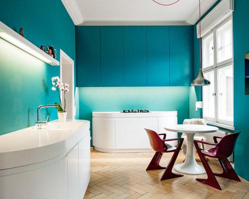 k chen mit mineralwerkstoff arbeitsplatte ideen bilder. Black Bedroom Furniture Sets. Home Design Ideas