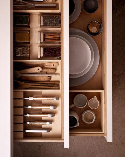 ordnung in der küchenschublade: 9 praktische ideen - Schubladen Ordnungssystem Küche