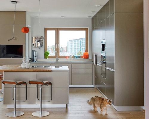 Moderne küchen l form  Moderne Küche in L-Form - Ideen & Bilder