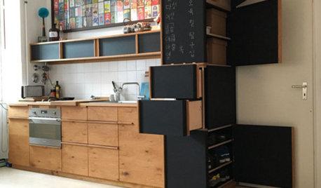 In dieser Küche steckt Holz, das andere wegwerfen