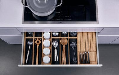 Ordnungscoach: 9 praktische Ideen für die Küchenschublade im Check