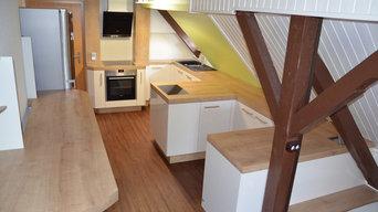 Dachgeschossküche