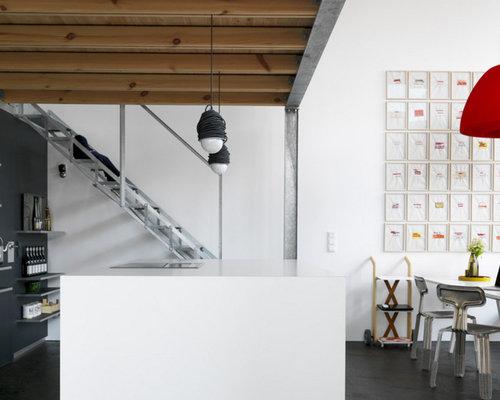 Kleine Küchen mit Landhausspüle Ideen, Design & Bilder | Houzz