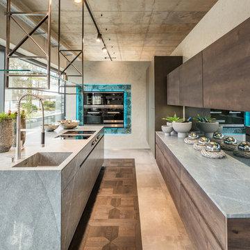Designer-Küche für gemütliche Zeit mit Familie und Freunden