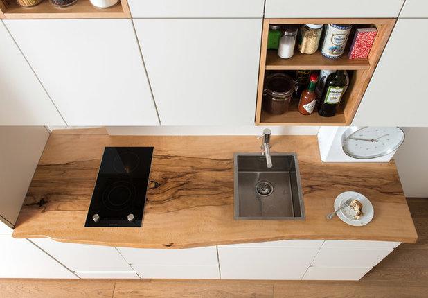 Modern Küche Die Wohnung W und die Bergbuche vom Sonntagshorn