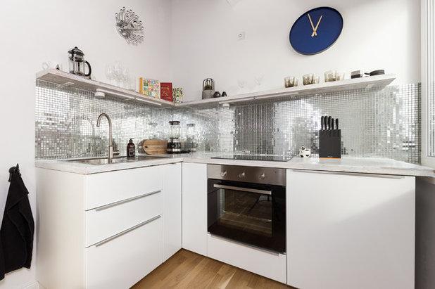 warum diese 16 wei en k chen nicht langweilig sind. Black Bedroom Furniture Sets. Home Design Ideas