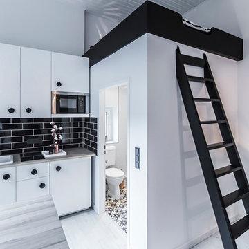 Edit homestaging's Modern and Chic Duesseldorf studio redo