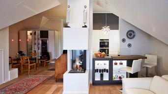 Einbauküche in einem Privathaus