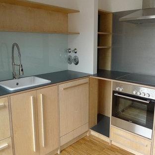 Cucina con ante in legno chiaro Francoforte - Foto e Idee per ...