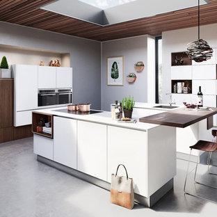 Moderne Küchen mit Quarzit-Arbeitsplatte Ideen, Design & Bilder | Houzz
